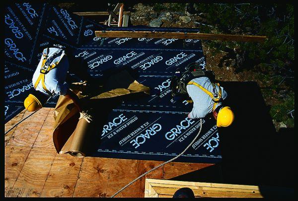 Installing Grace Ice Amp Water Shield Underlayment Fine