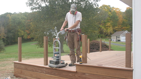 How to prep a deck for finishing