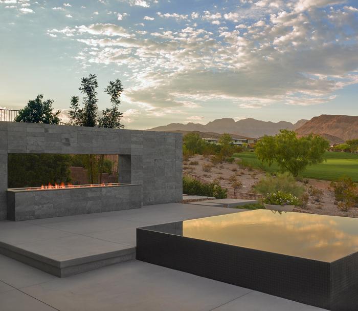 Hot Tub In The Desert Fine Homebuilding