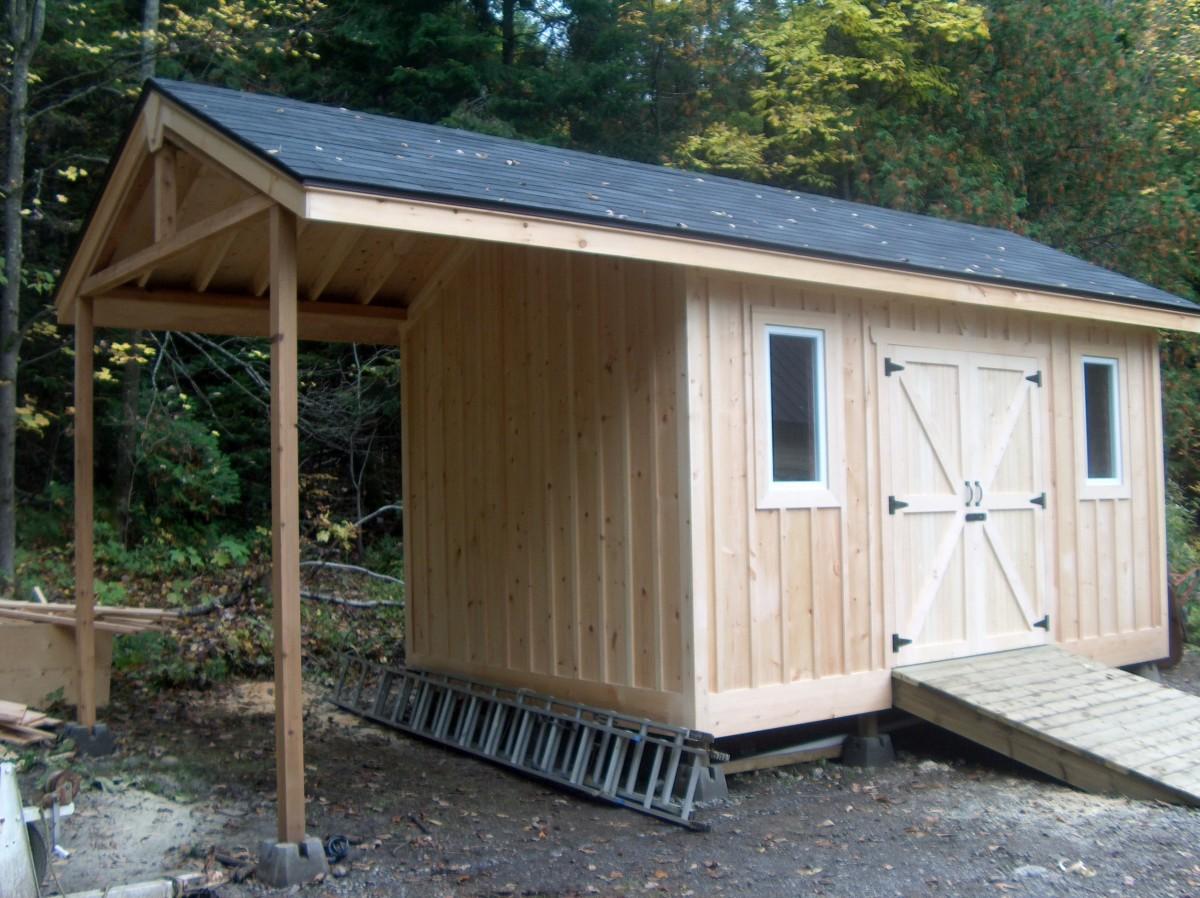 Large Storage Shed Fine Homebuilding