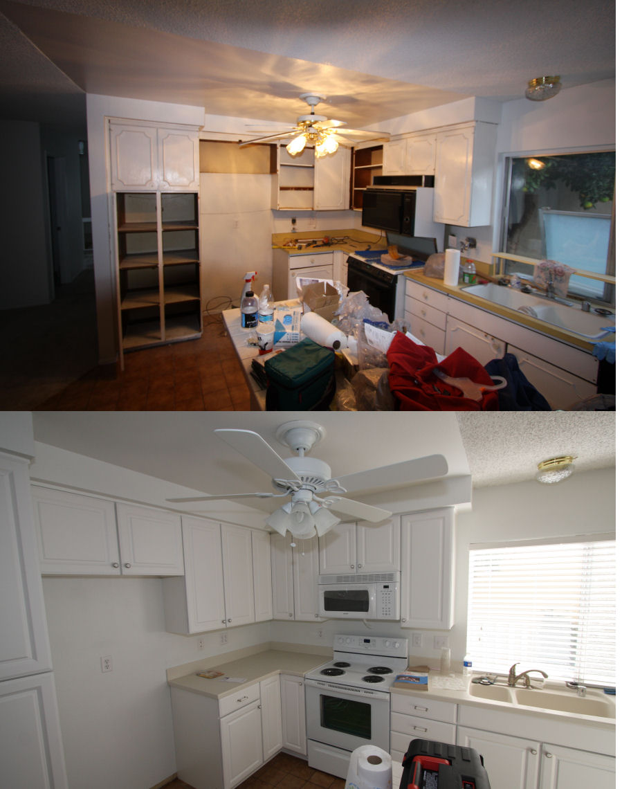 1970\'s Kitchen Remodel (Product from Lowes / Work done by Me) - Fine ...
