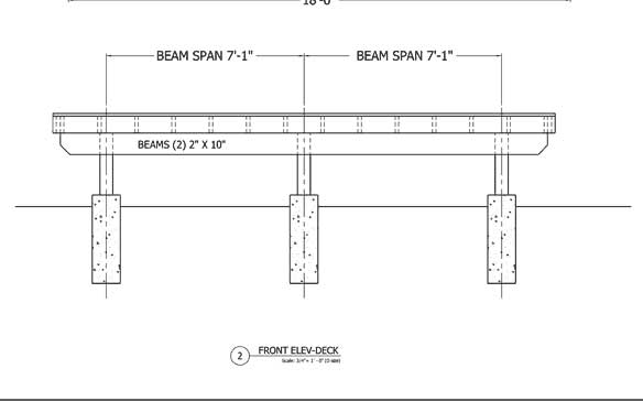 How Do I Splice a Deck Beam in the Middle of a Post? - Fine Homebuilding
