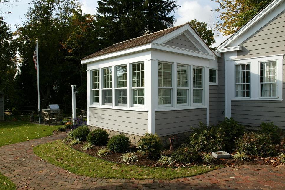 21st century neo classical sunroom fine homebuilding for Sunroom sizes