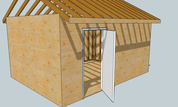 Organization is the key to building SketchUp models with lots of parts. & Jambing with SketchUp: Create and Add an Exterior Door Component ...