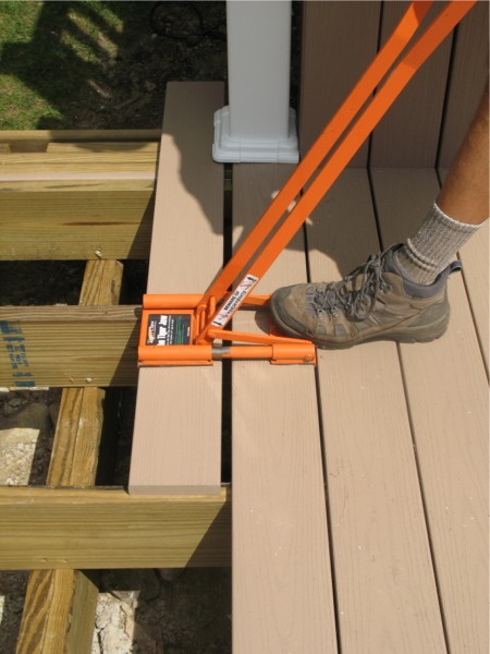 Tiger Jaw Deck Board Tool Fine Homebuilding