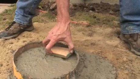 How To Level Up Concrete Piers Fine Homebuilding