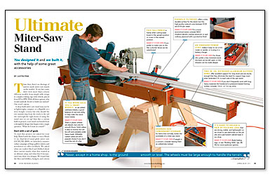 Ultimate Miter-Saw Stand