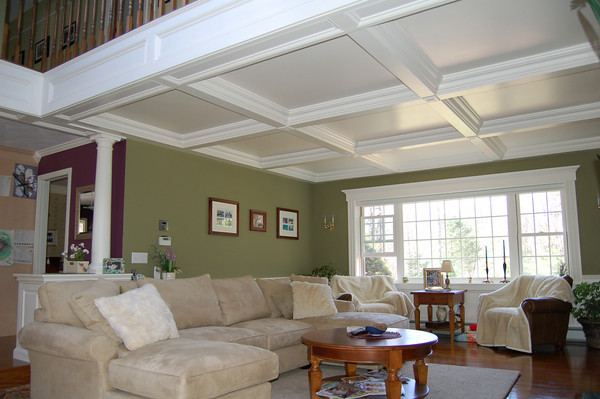 Coffered Ceiling Fine Homebuilding