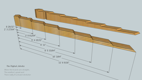 Model And Measure De Mystifying Hip Roof Framing By