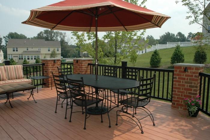 Brick Deck Railing - Fine Homebuilding