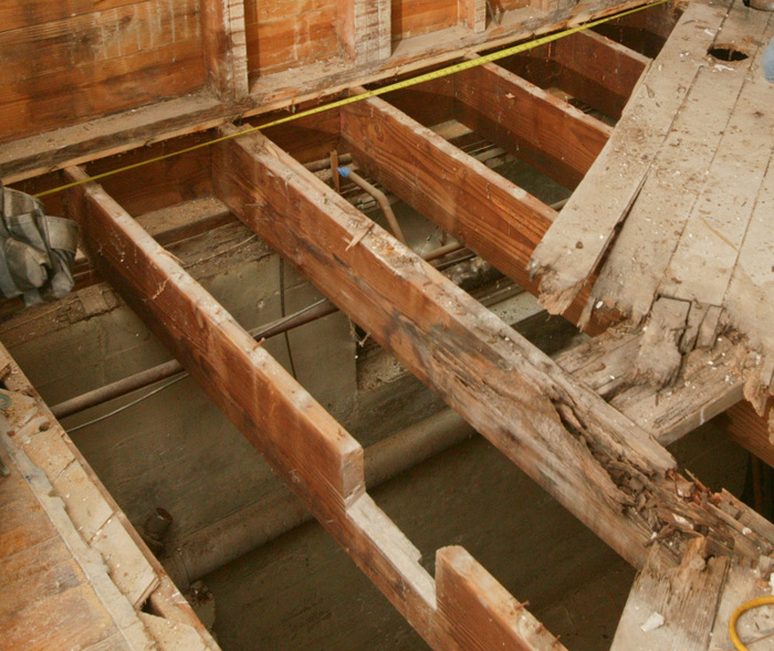 How To Repair A Butchered Floor Joist Fine Homebuilding