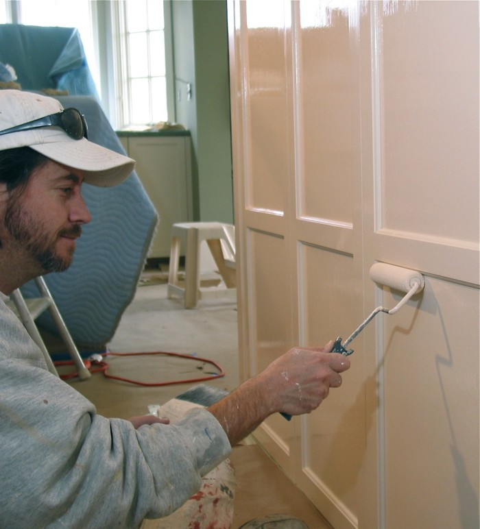 Professional Kitchen Cabinet Painters: Painting Secrets Of A Pro: Hand-Finishing Custom Cabinets