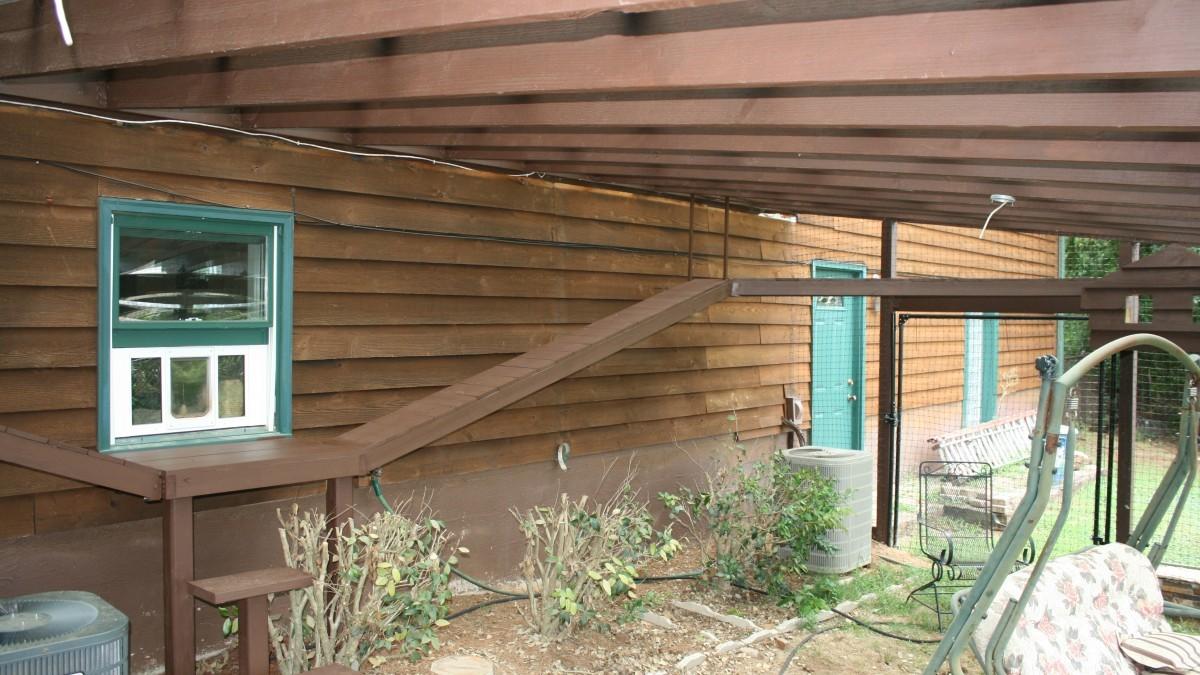 Backyard Cat Ranch Fine Homebuilding