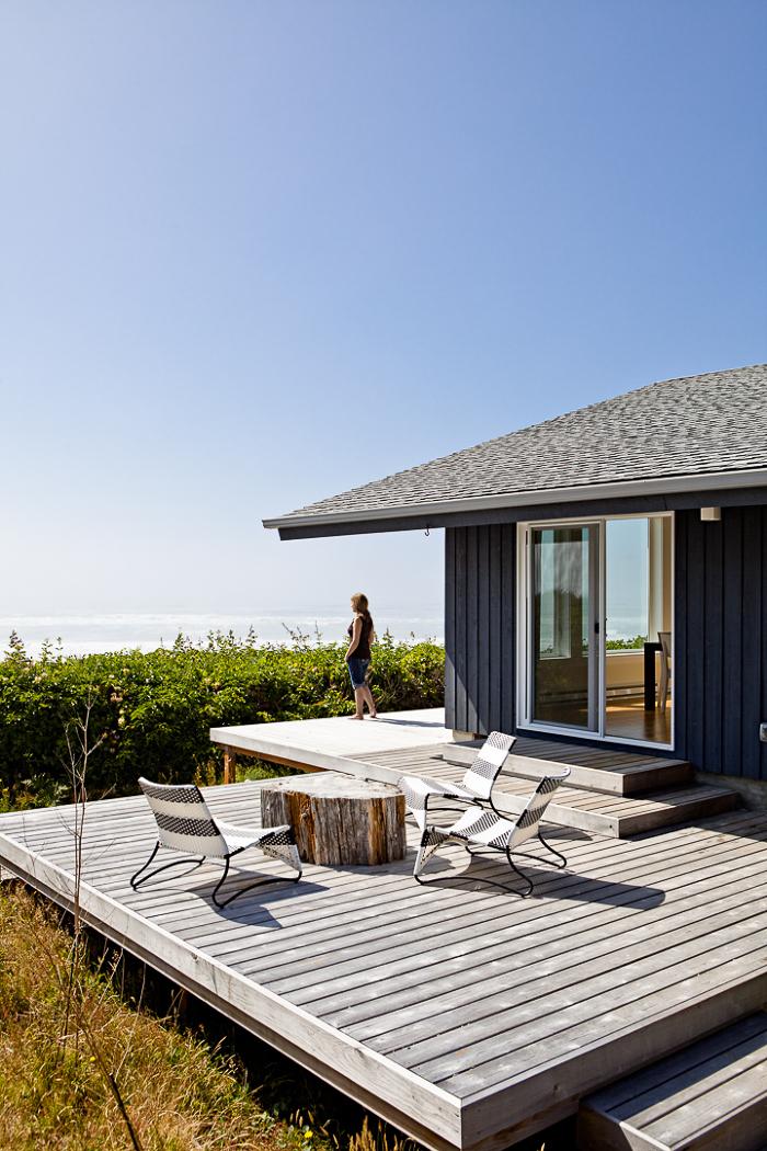 Mid Century Modern Deck Fine Homebuilding
