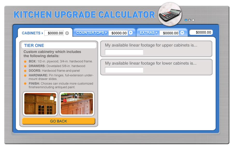 update kitchen upgrade calculator fine homebuilding