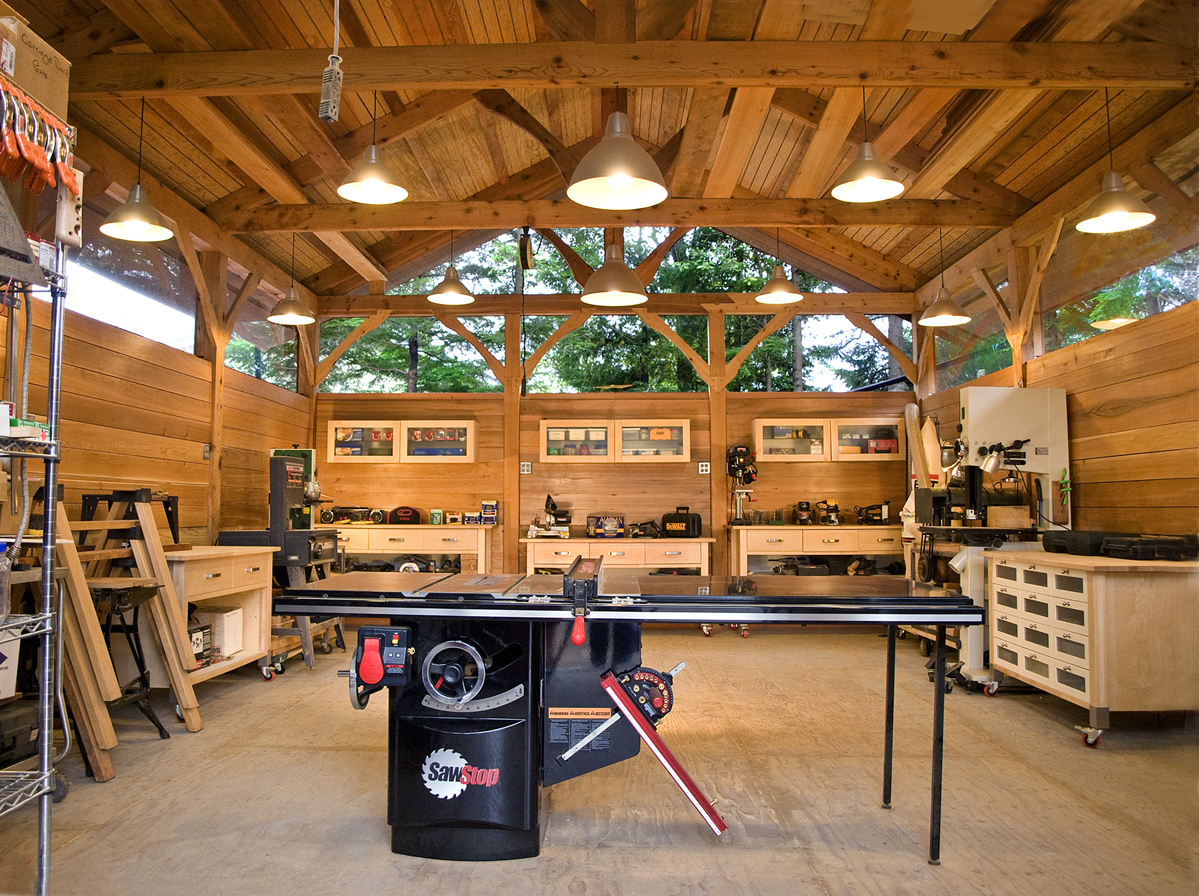 Alaskan Timber Frame Workshop Fine Homebuilding