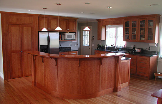 Kitchen Island Design With Seating Open Concept