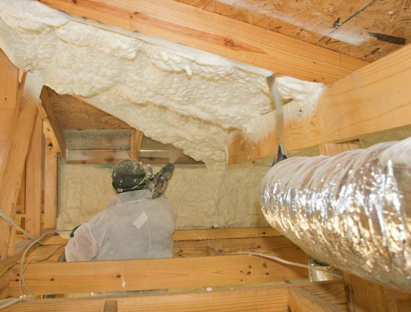 Can Open Cell Foam Waste Be Used As Attic Insulation