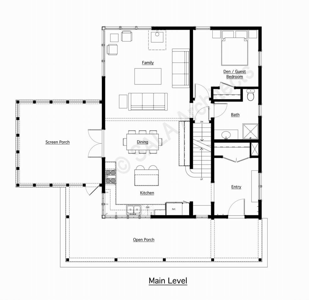 A Classic Farmhouse Fine Homebuilding – Farm House Floor Plan