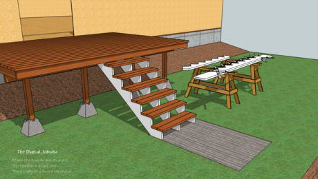 How To Assemble Deck-Stairs