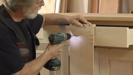 Build A Simple Jig To Drill Cabinet Handle Holes Perfectly