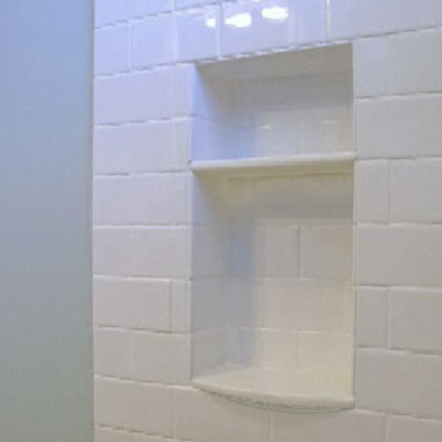 Attirant Learn How To Lay Out, Cut, Install, And Waterproof A Shampoo Niche In Your  New Shower.