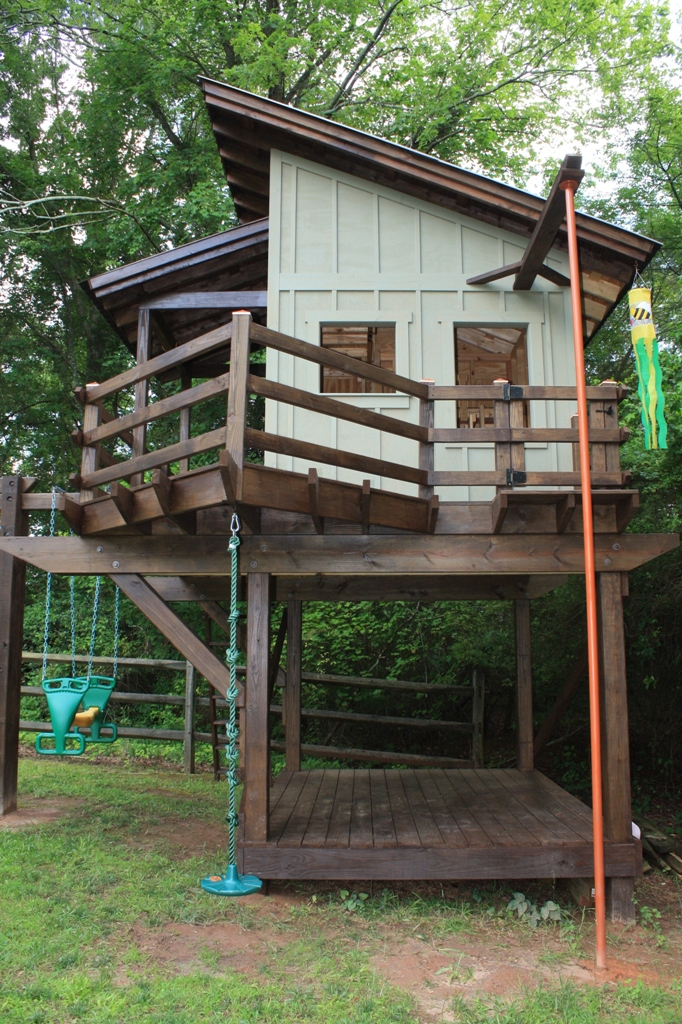 Playhouse and Swing - Fine Homebuilding