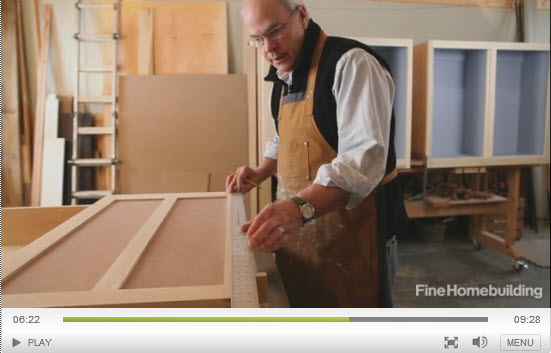 Cabinet-door video series