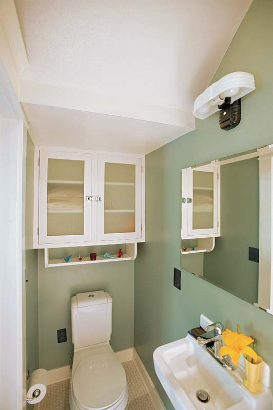 Fitting A Shower Into A Small Bath Floorplan Fine Homebuilding