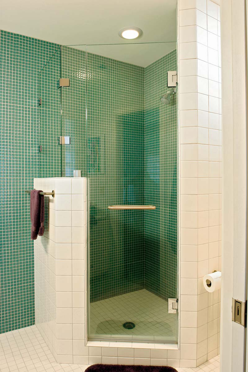 Adding A Shower To A Very Small Bathroom: Fitting A Shower In A Small-bath Floorplan