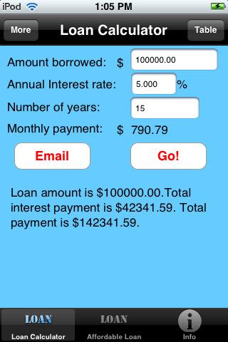 smart phone apps for builders simple loan calculator fine