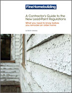 cover of lead safe white paper