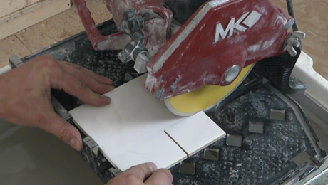 How To Make An L Shaped Cut In Tile Fine Homebuilding