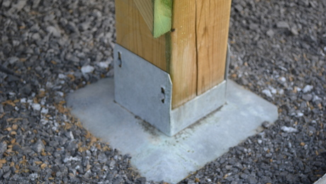 Free Standing Deck Footings Fine Homebuilding