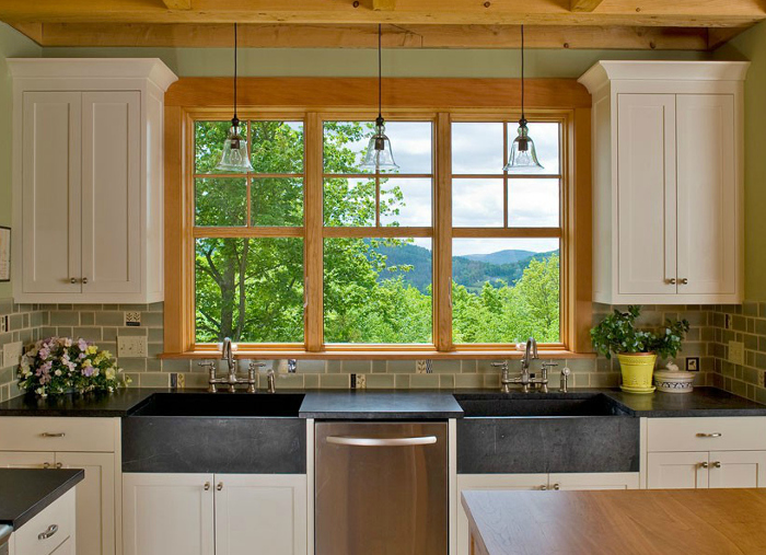 Vermont Soapstone Co. Built The Twin Sinks For This Classic Kitchen  Designed By Haynes U0026 Garthwaite Architects Of Norwich, VT