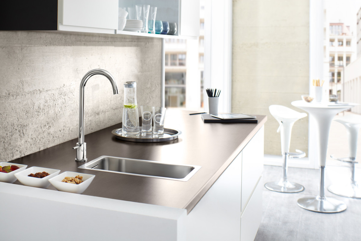 Grohe Blue Alternative the faucet for who technology and sparkling