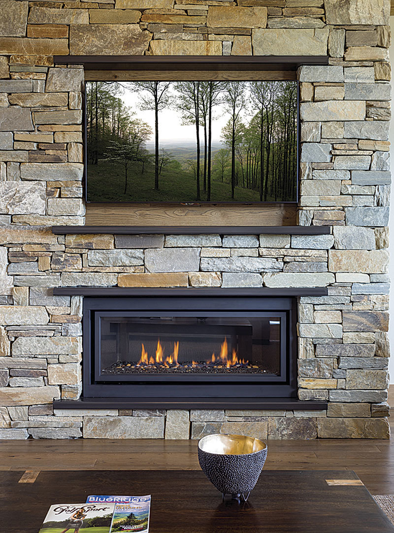 Arranging A Fireplace And A Television Fine Homebuilding