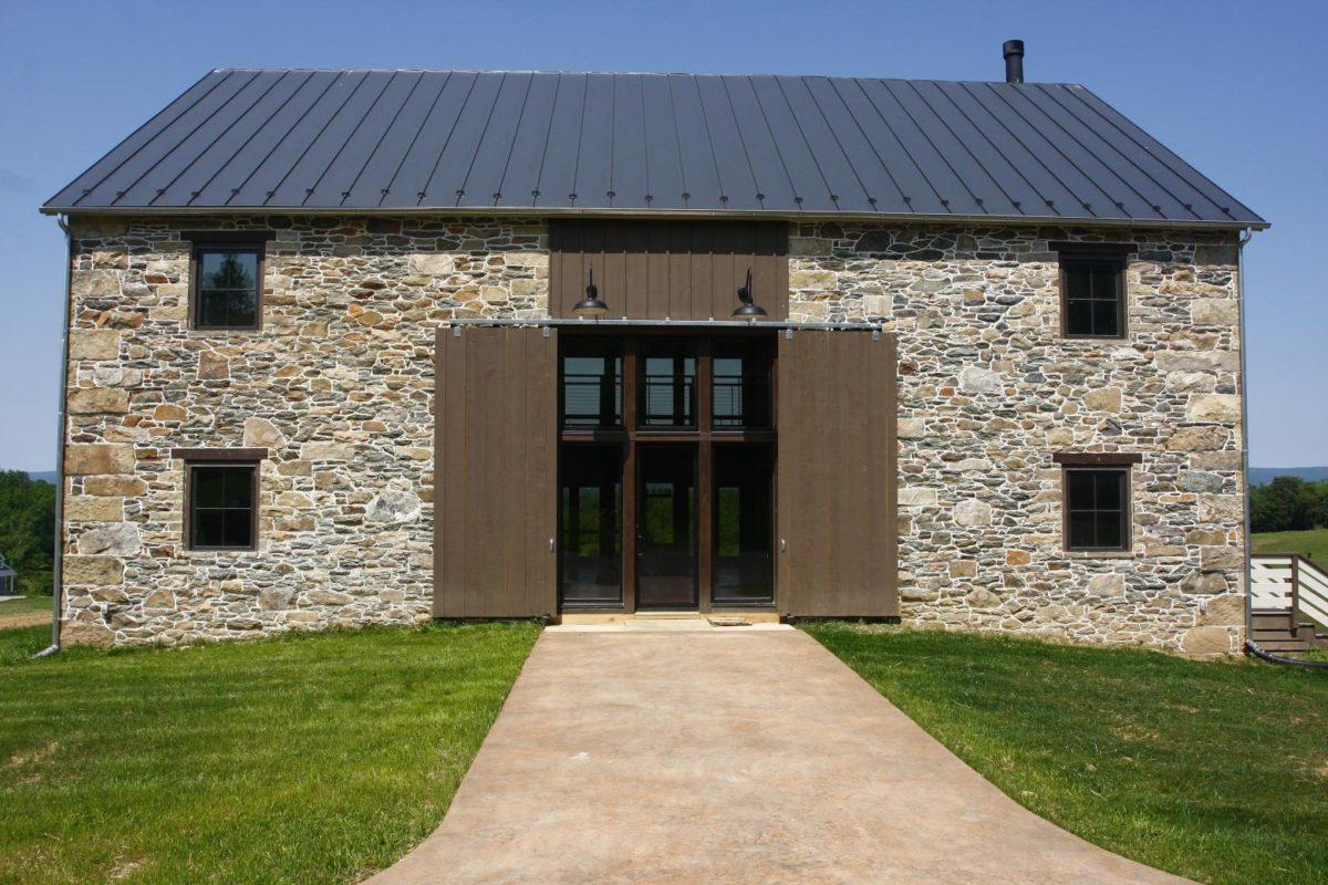 Virginia Stone Barn Fine Homebuilding