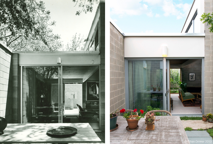 An Iconic Mid-Century Modern Home - restoration and deep ... on