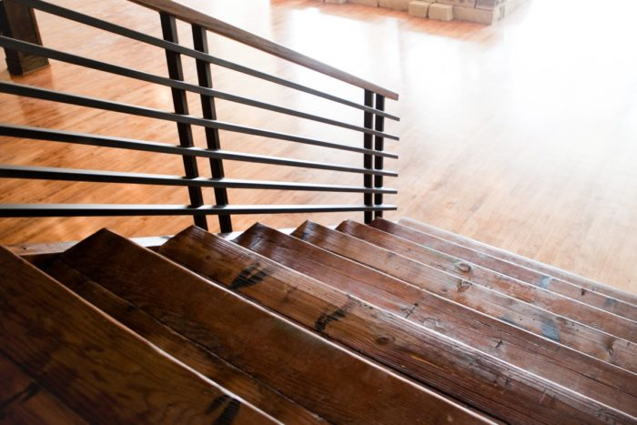 Reclaimed Timber Stair Treads.