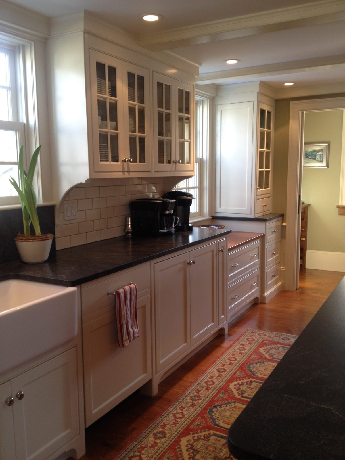 21st Century Kitchen Blended Into 19th Century Home Fine Homebuilding