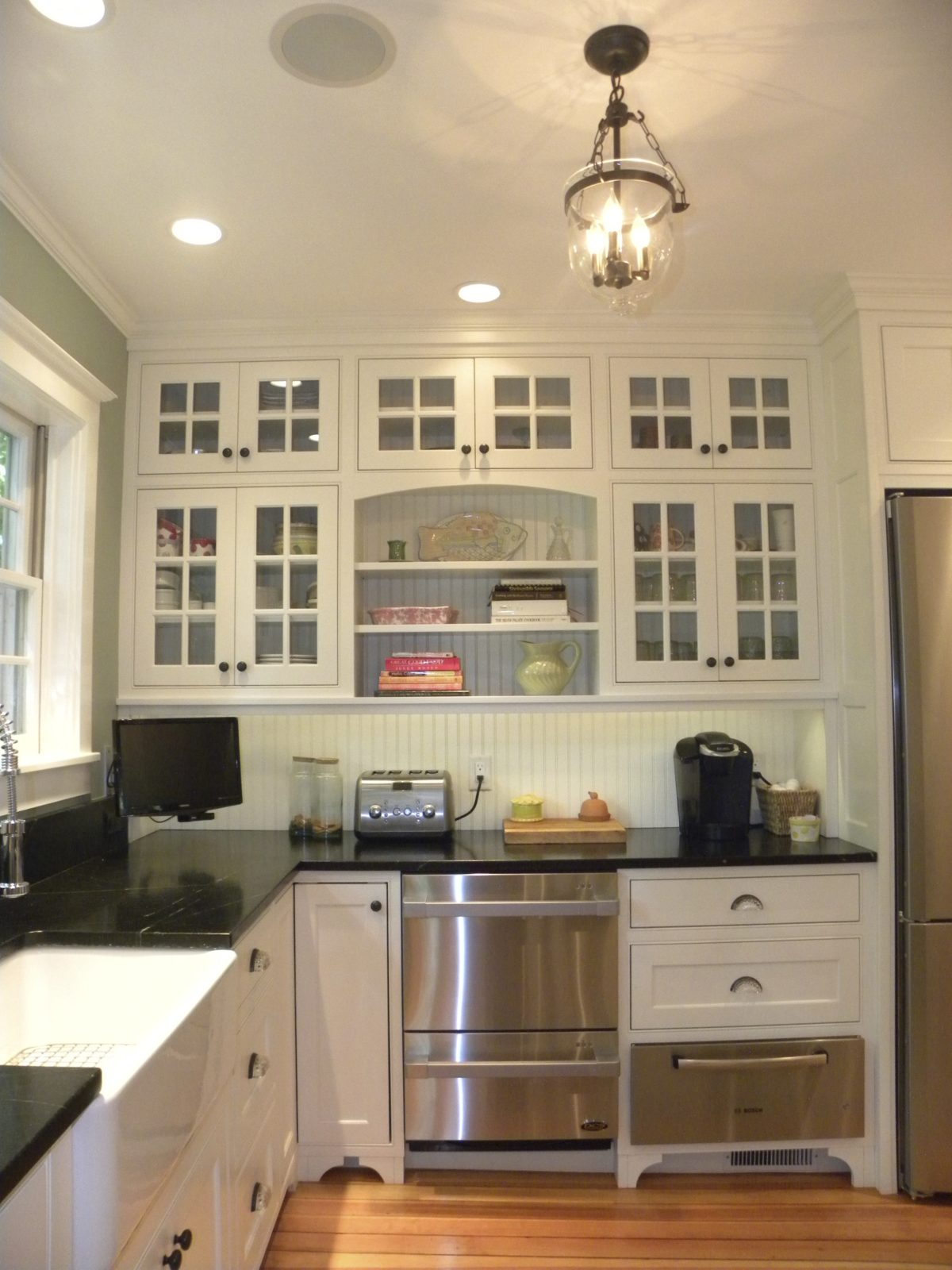Renovated Greek Revival Kitchen