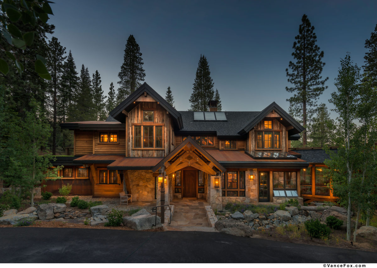 Small Lakefront House Plans Sustainable Mountain Home Fine Homebuilding