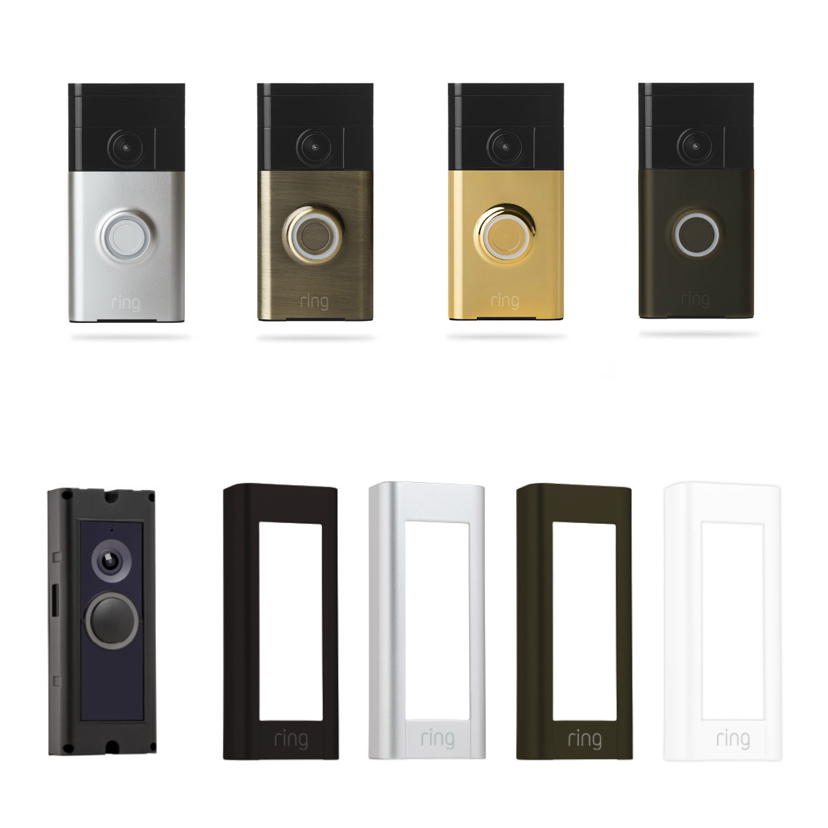Ring Video Doorbell Pro Satin Nickel
