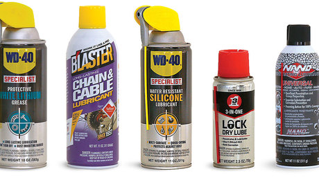 What's the Difference: Spray Lubricants - Fine Homebuilding