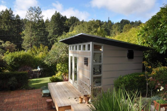 The Sky S The Limit With These Flat Packed Modern Sheds