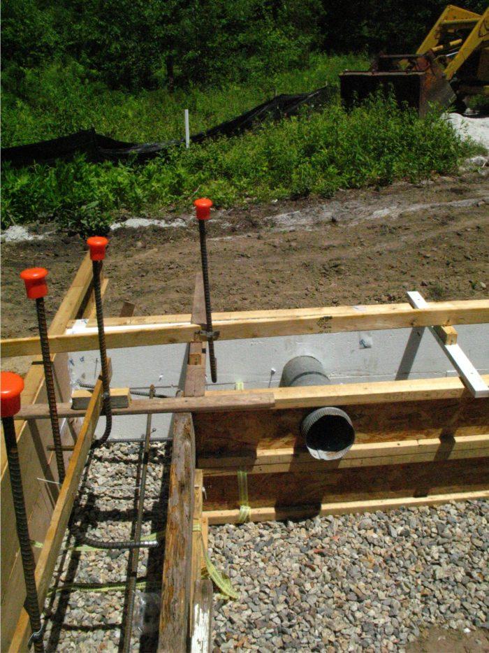 Pipe Stubs Through Footing - Fine Homebuilding