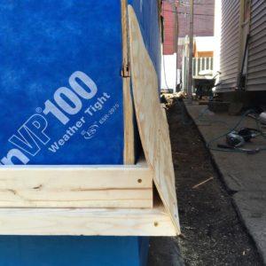 Cedar Shingles Flared Amp Woven While Using A Rain Screen