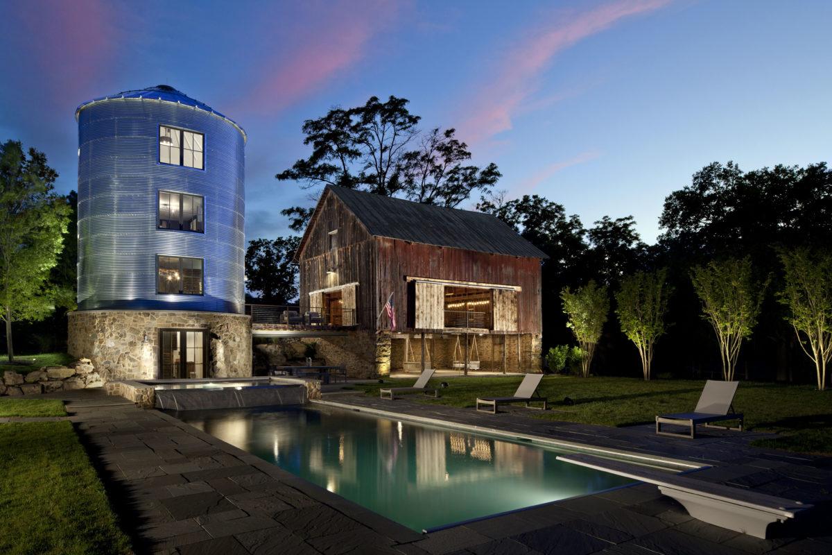 Round Hill Barn, Silo and Spa - Fine Homebuilding