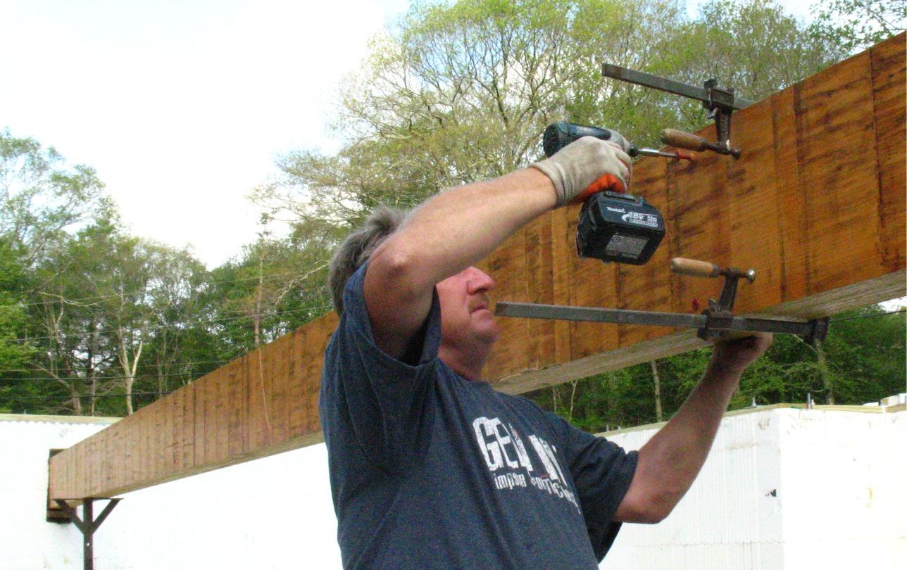 FlatLOK screws for Built-up Beams, Girder trusses and more - Fine